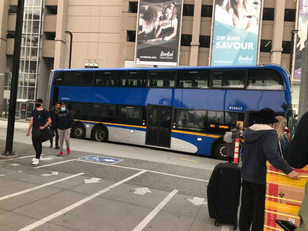 公車到Tsawassen ferry terminal