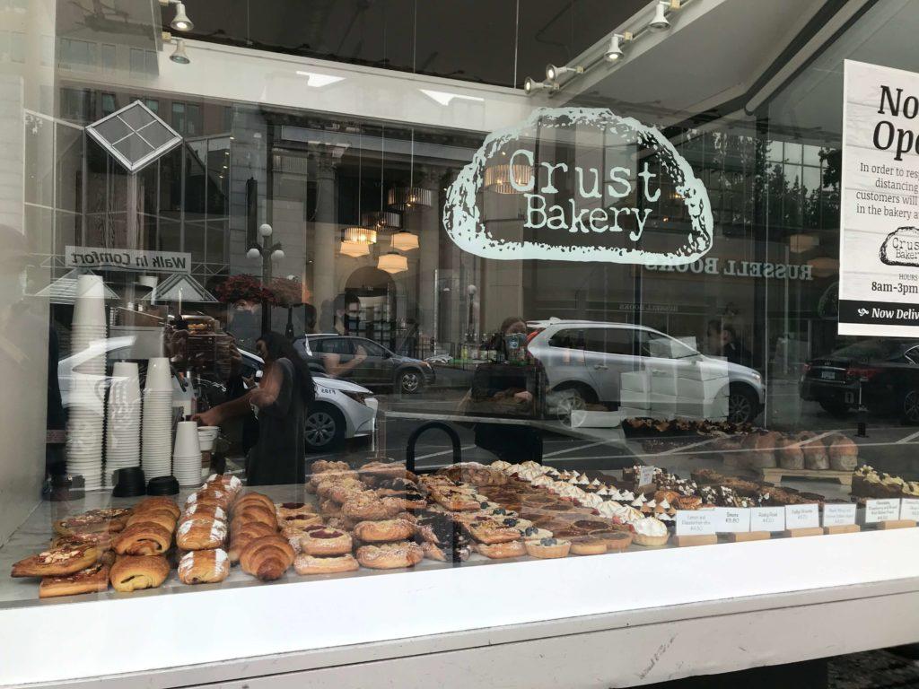 Crust Bakery 維多利亞點心