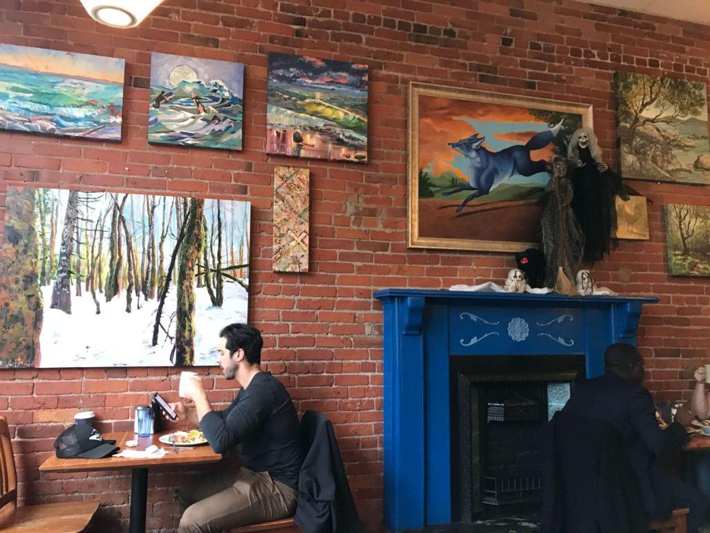 維多利亞早午餐藍狐狸blue fox